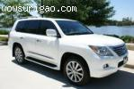2011 Lexus LX 570 Base and 2012 Land Rover Range Rover Sport