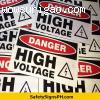 Reflectorized Signs and Stickers