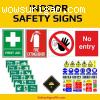 Indoor & Outdoor Safety Signs Philippines